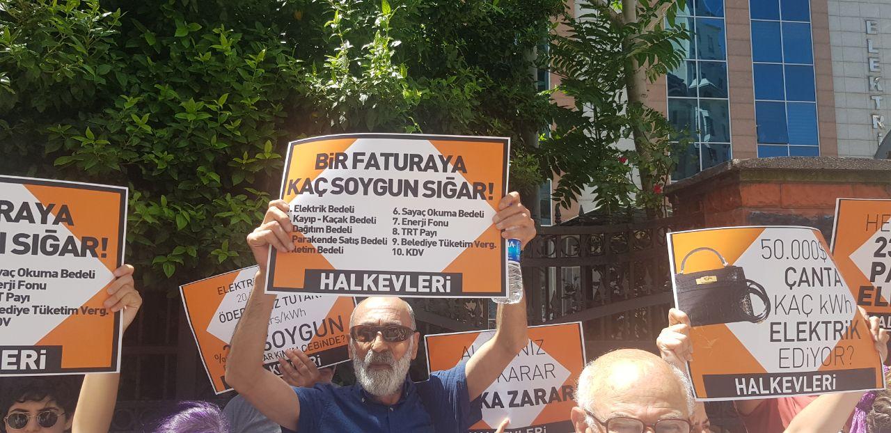 Halkevleri'nden zam protestosu: Kaybettiniz, halkın sırtından inin!