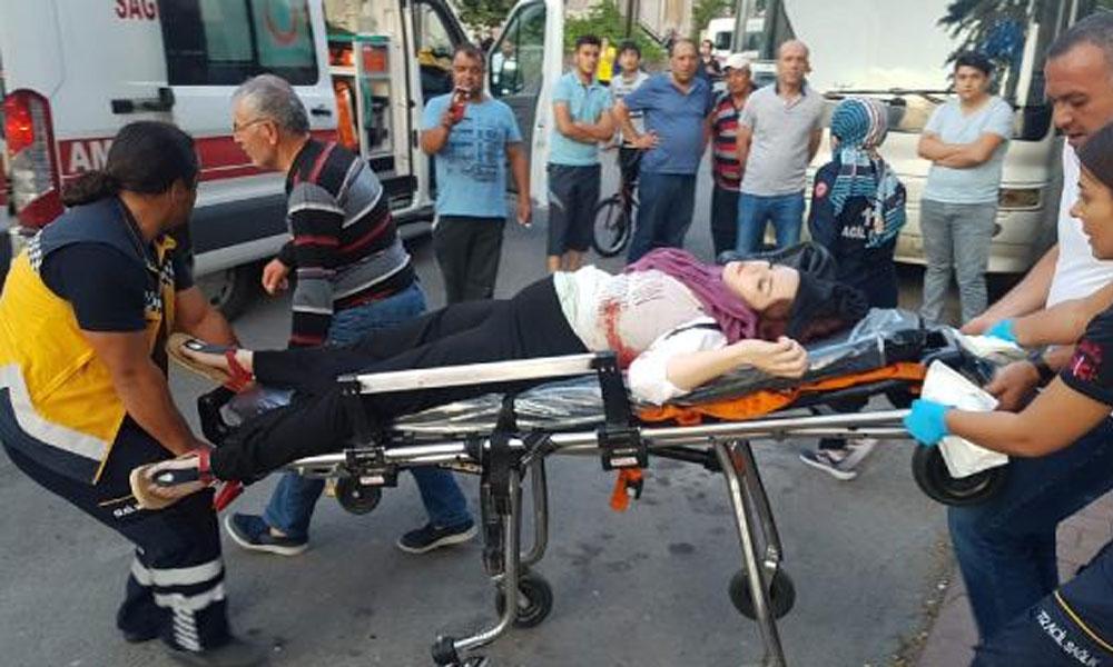 Hamile kadın ve arkadaşına sokak ortasında silahlı saldırı