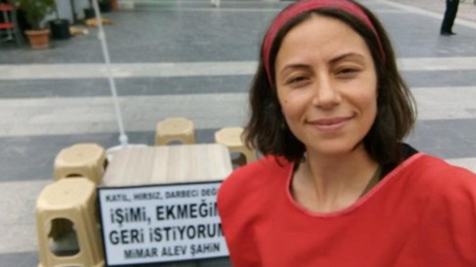 KHK ile ihraç edilen mimar Alev Şahin'e kesilen para cezaları iptal: 'Barışçıl eyleme ceza verilemez'