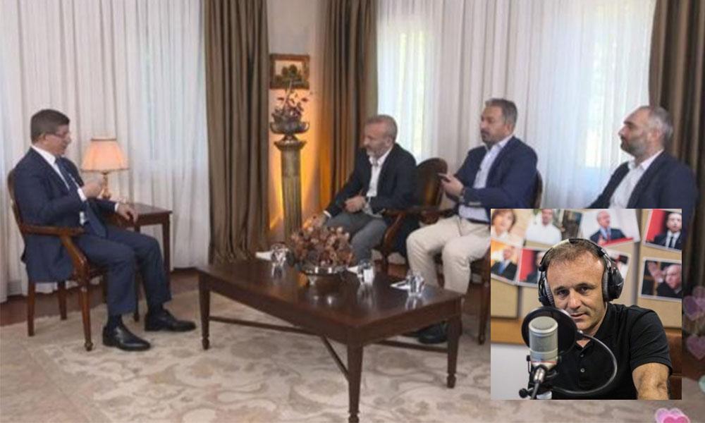 Cezasız kalmadı: Yasaklı Davutoğlu'nu konuk eden gazetecilerin işlerine son verildi