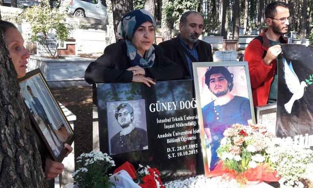 10 Ekim katliamında oğlu ölen babaya hapis cezası!