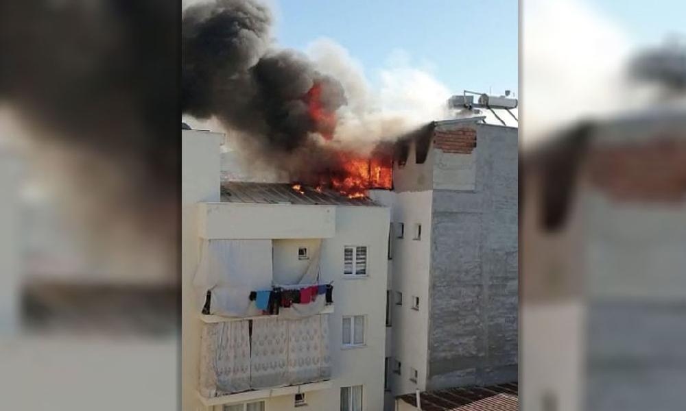 Tarikat yurdunda yangın… Öğrenciler kayıplara karıştı!
