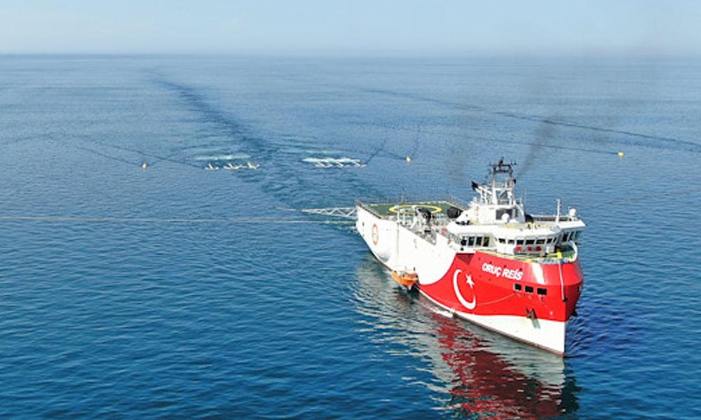 Akdeniz'e dördüncü gemi: Oruç Reis de gidiyor