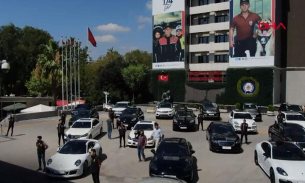 INTERPOL'ün listesindeydiler: İstanbul'da 'kaçak lüks otomobil' operasyonu