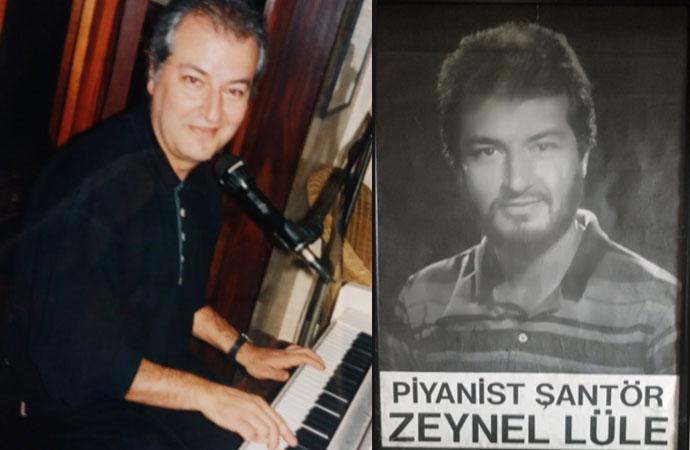 Türkiye onu 'Zeynel Lüle Brüksel'den bildiriyor' diye tanıdı ama o aslında besteci, o bir piyanistti ve yıllar sonra ilk klibini çıkardı