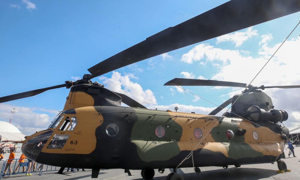 Amerikan Büyükelçiliği duyurdu… 4 Chinook helikopteri daha teslim edildi