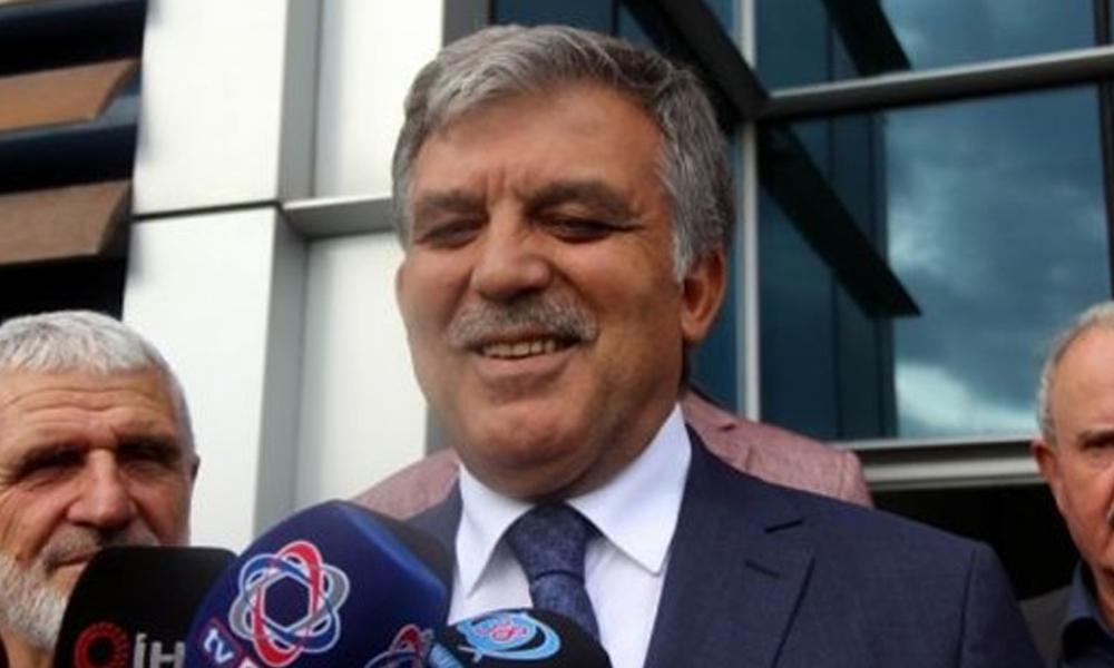 Abdullah Gül'ün, yeni parti ve S-400 sorusuna cevabı: Söyleyeceklerim bu kadar…