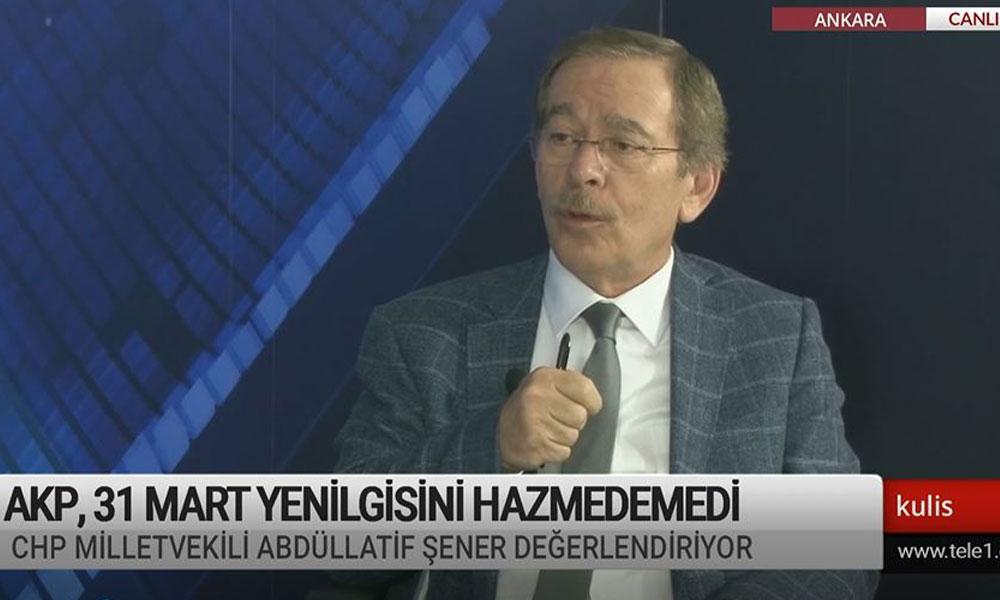 Abdüllatif Şener: AKP'nin 2023 hedefleri değişti