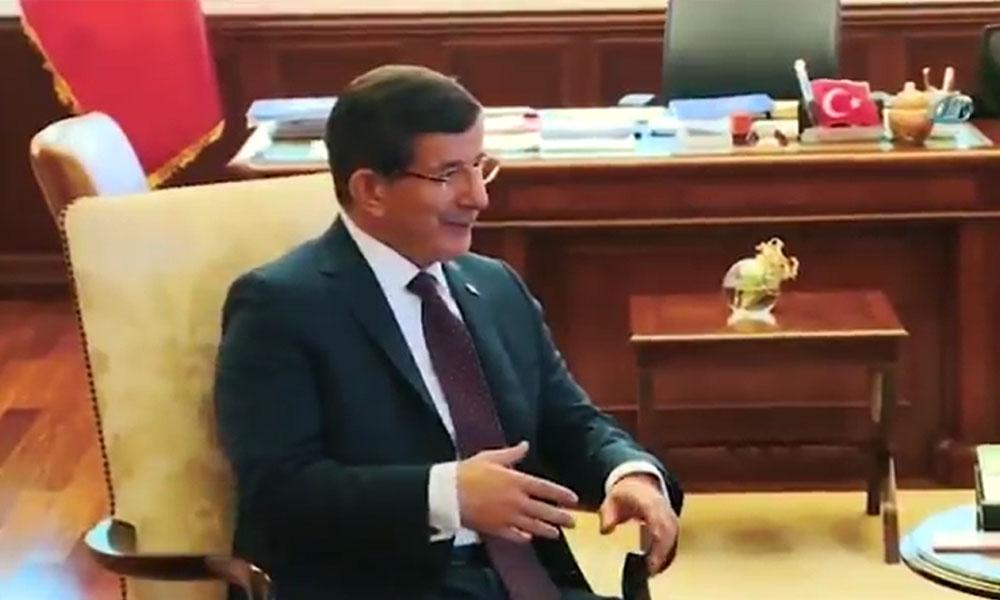 Ahmet Davutoğlu'ndan 'ceket'li propaganda videosu