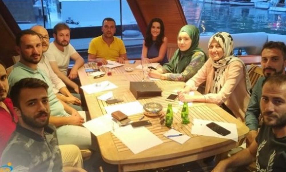 AKP Gençlik Kolları'nın yat sefası