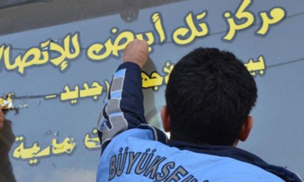 Valilikten Arapça tabela açıklaması! İş yerlerine süre verildi