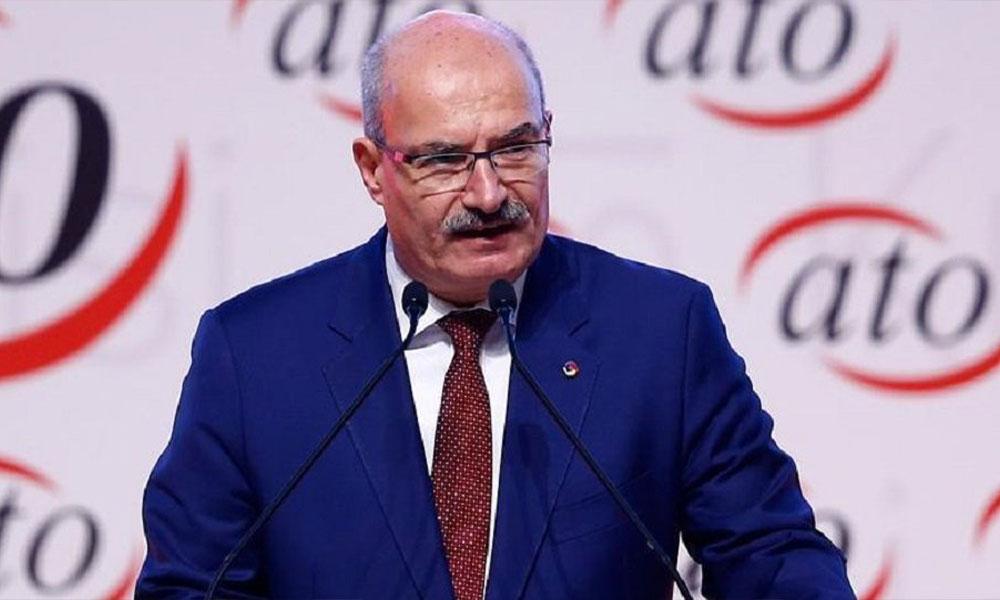 ATO Başkanı Gürsel Baran: Konkordato ilan edenin borçlarını devlet ödesin sözlerim yanlış anlaşıldı