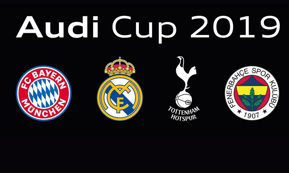 AUDI Cup mücadelesi için geri sayım başladı!