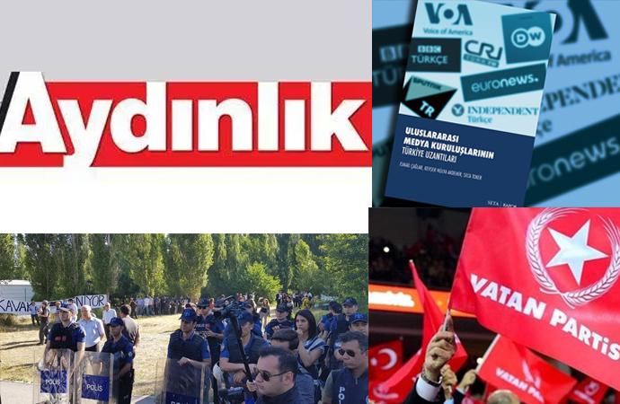 Aydınlık SETA'ya, Vatan Partisi ODTÜ'de polise destek verdi!