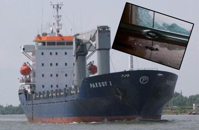 Türk gemisine korsan saldırı! Çok sayıda denizci rehin alındı… İşte geminin içinden ilk görüntüler