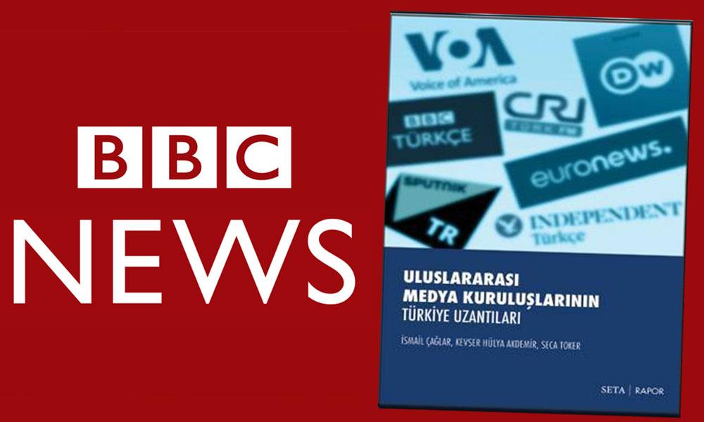 BBC'den 'SETA' açıklama: Gazetecilerin fişlenmesi kesinlikle kabul edilemez