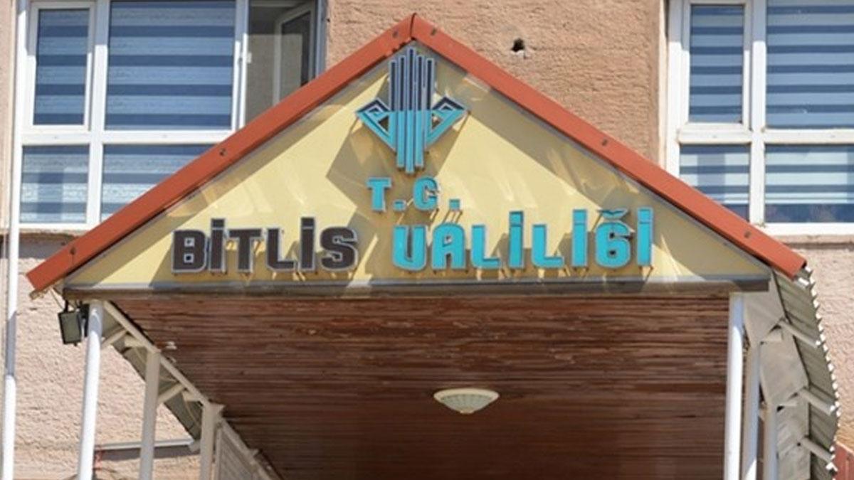 Bitlis'te sokağa çıkma yasağı ilan edildi!