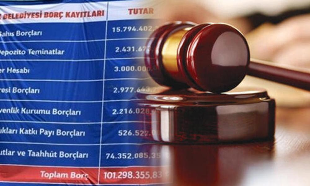 AKP'li eski başkandan CHP'li yeni başkana, 'borcumu neden açıkladın' davası!