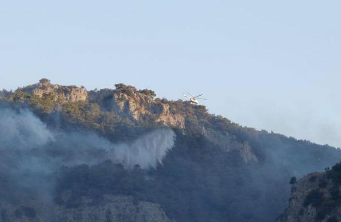Dalaman'da yangın kontrol altına alındı: İşte havadan ilk görüntüler