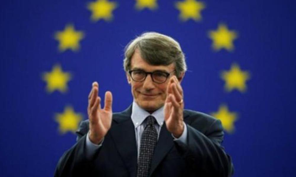 Sosyalist gazeteci David Sassoli, Avrupa Parlamentosu'nun yeni başkanı seçildi