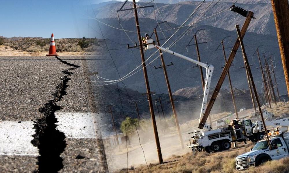 California son 20 yılın en büyük depremiyle sarsıldı… Acil durum ilan edildi!