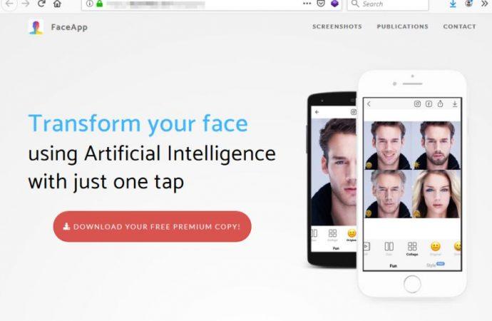 Yaşlandırma programı FaceApp uygulamasına dolandırıcılar el attı