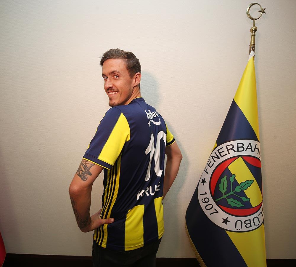 Fenerbahçe'de 10 numaranın sahibi, Alman futbolcu oldu
