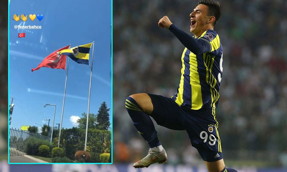 Eljif Elmas'tan Fenerbahçe'ye veda!
