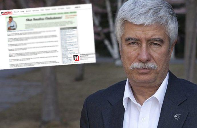 Faruk Bildirici'den Hürriyet'e tepki: Bu kadarı ayıp artık!