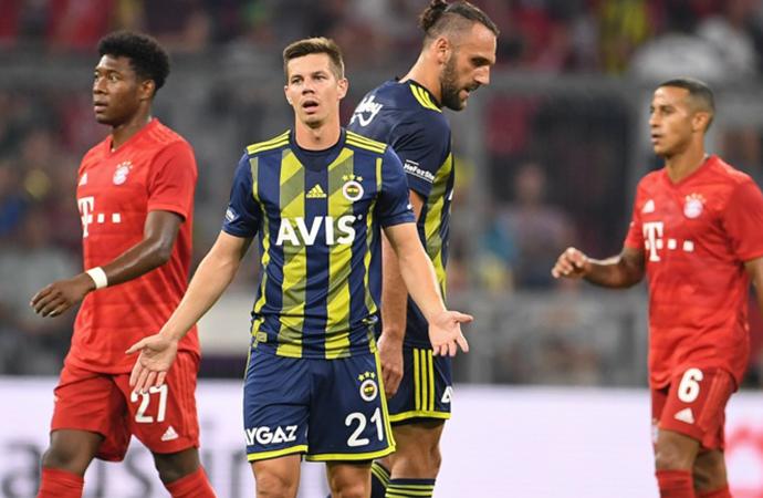 Bayern Münih'ten Fenerbahçe'ye 6 gol!