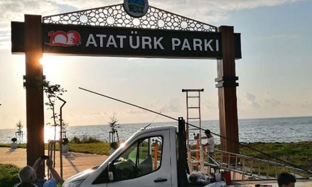 Fındıklı Belediye Başkanı'ndan 'Atatürk tabelası' çıkışı: Kendimi yakarım…