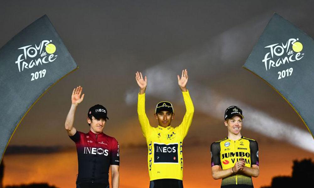 Fransa Bisiklet Turu'nun en geç şampiyonu 'Egan Bernal'