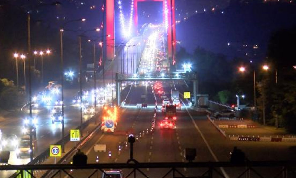 Bakan açıkladı… FSM Köprüsü'nün birinci etabı trafiğe açılıyor