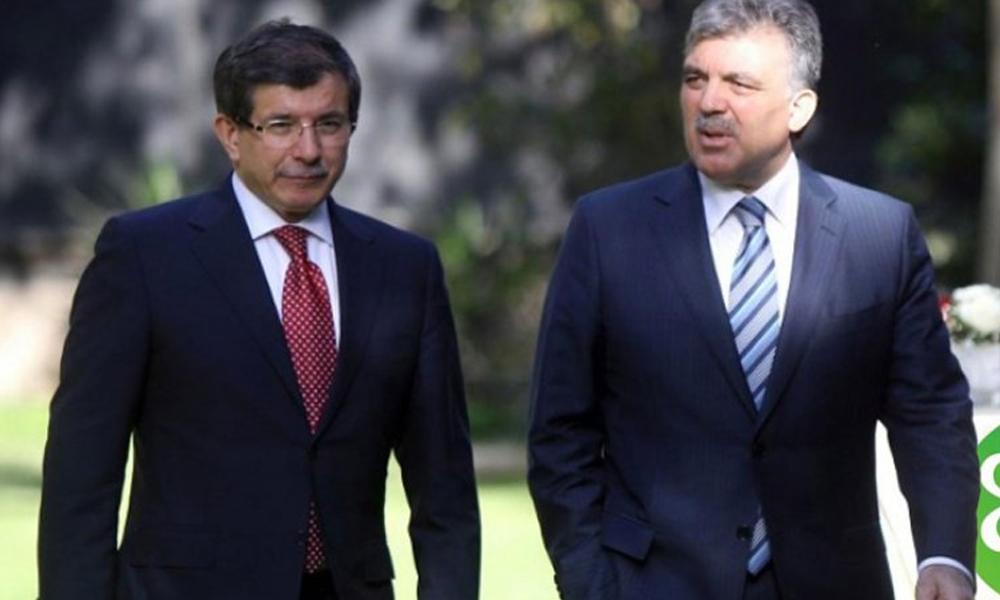 Yeni parti'de flaş iddia: Abdullah Gül siyaseten, önce Davutoğlu'nu  'tüketecek'