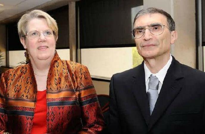 Aziz Sancar'ın eşi Prof. Gwen Sancar KKTC Miami fahri temsilci olarak atandı