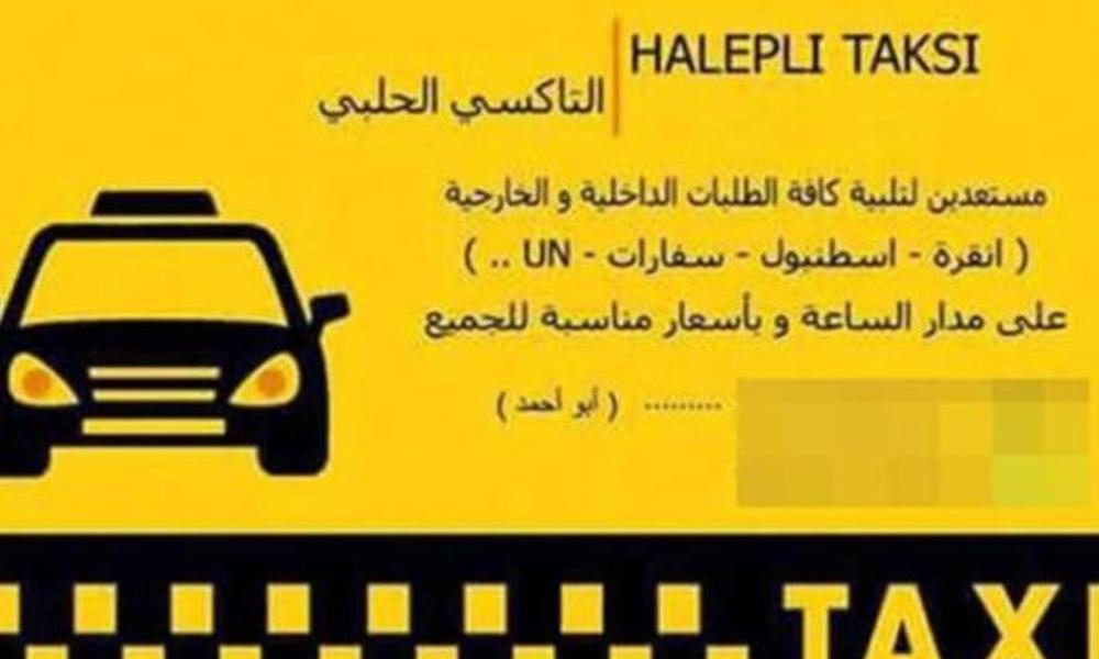Suriyeliler kartvizit bastırıp, korsan taksi durağı açtı!