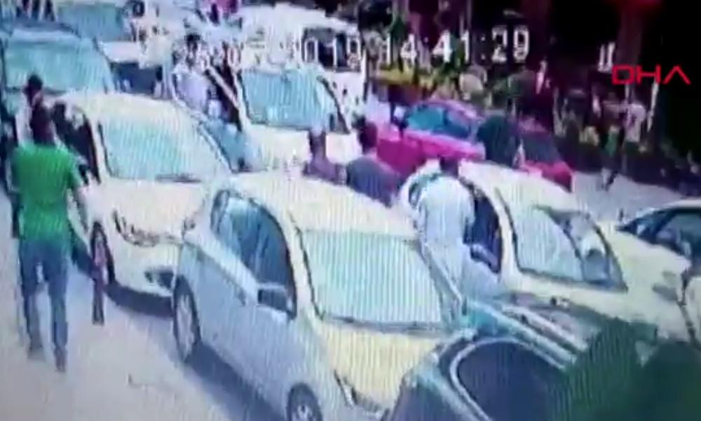 300 bin liralık soyguncuya meydan dayağı… İBB önüne getirdiler