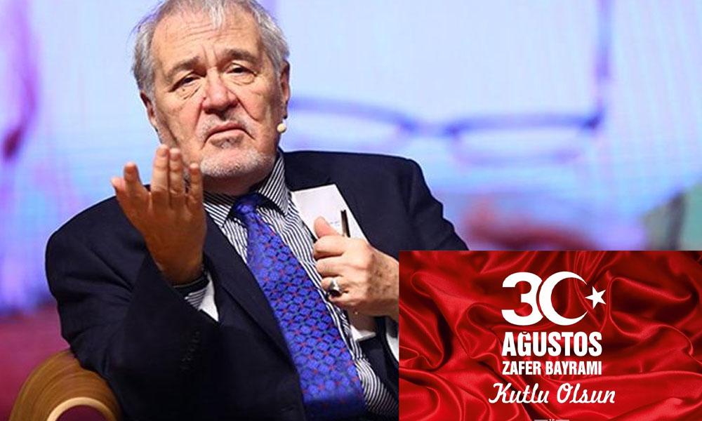 30 Ağustos'u hedef alan AKP'li Başkana İlber Ortaylı ders verdi