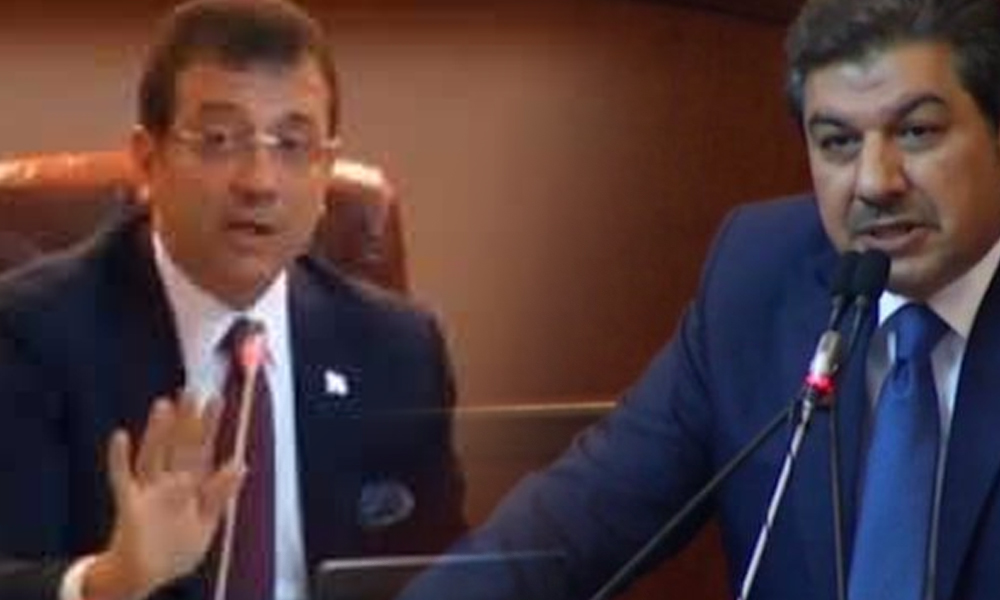 İBB canlı yayınında Erdoğan tartışması| İmamoğlu'ndan AKP'li Göksu'ya: Tevfik bey bizim canlı yayını çok sevdi