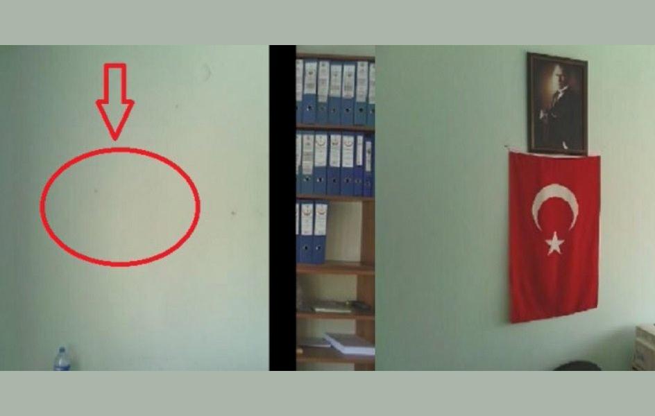 Hastaneden Atatürk posterinin indirilmesine direnen memur ihraç edildi