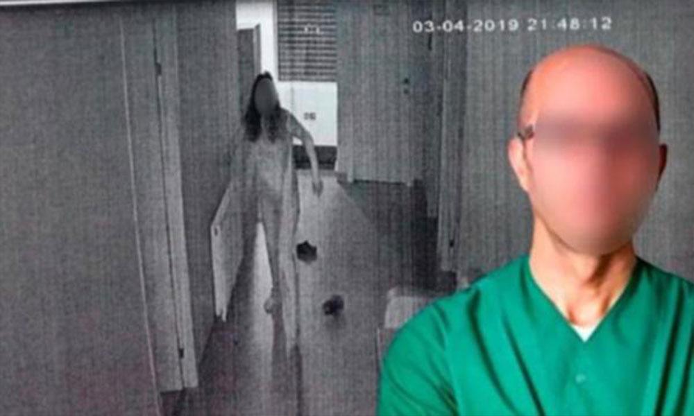 Klinikte tecavüze istenen hapis belli oldu