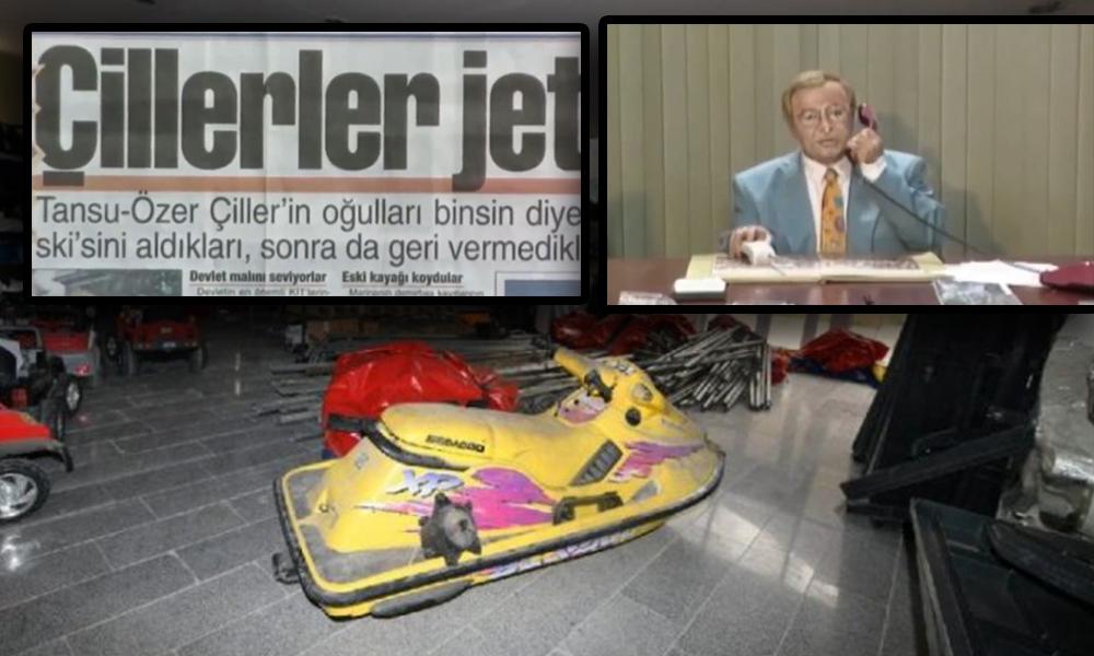 Ankara Büyükşehir deposundan jet ski çıktı! Levent Kırca'nın jet ski skeci yeniden gündeme geldi