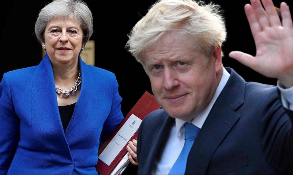 İngiltere'de Boris Johnson, Kraliçe 2. Elizabeth'ten hükümeti kurma görevi aldı