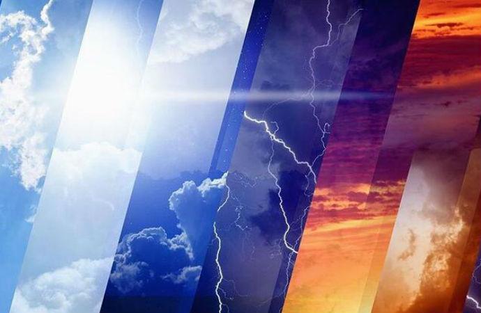 Meteorolojiden sıcaklık ve sağanak yağış uyarısı