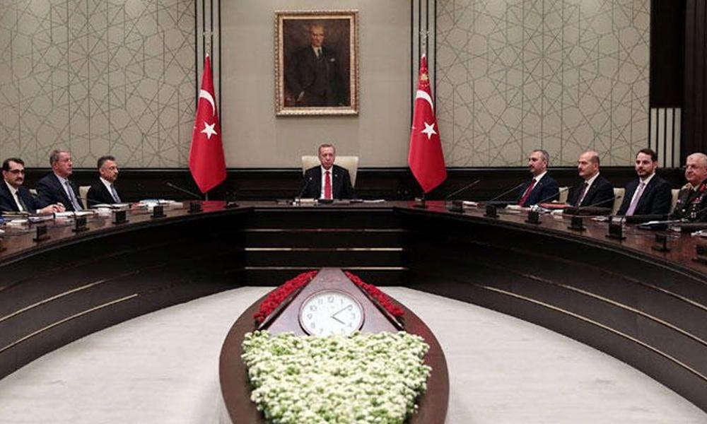Altı saatlik toplantı sonrası MGK'dan 'Barış koridoru' açıklaması