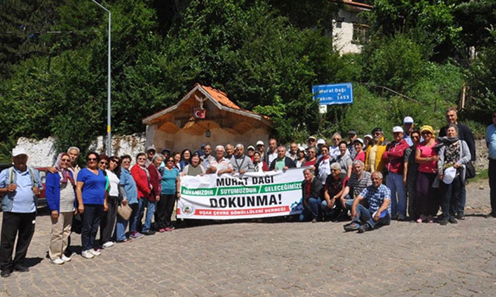 Murat Dağı'nda siyanür tehlikesi