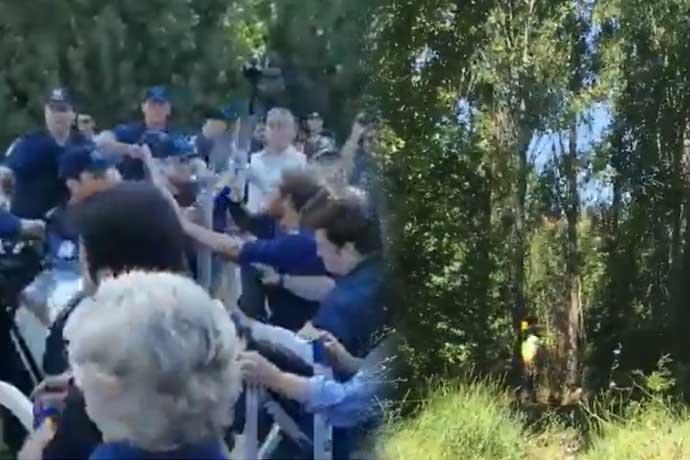 ODTÜ'de polis biber gazıyla müdahale etti! Çok sayıda öğrenci gözaltında. Ve ağaçlar kesilmeye başlandı