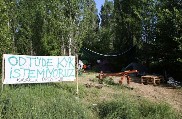 Ağaç katliamının yaşandığı ODTÜ'de fakülteler ayakta; rektör yardımcısı istifa etti