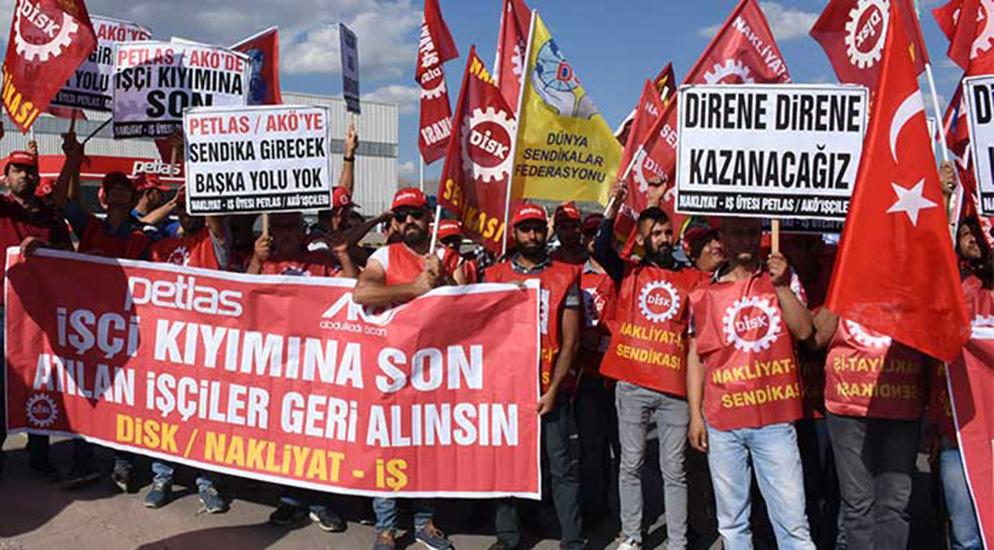 İşçiler direniyor! TRT'den 'o konuya' değinmeden röportaj