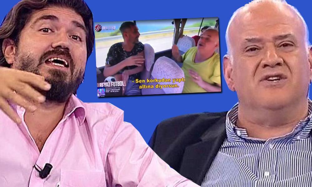 Yandaş Beyaz TV'de skandal görüntüler! Kıbrıs Barış Harekatı'na 'işgal' deyip, Atatürk'le dalga geçtiler